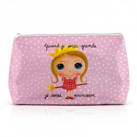 Large pencil case Princess by Isabelle Kessedjian