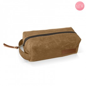 Camel toiletery bag by Label'tour créations