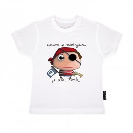 "Tee-shirt ""Pirate"" by Isabelle Kessedjian"