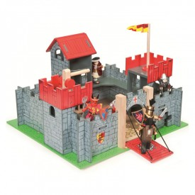 Camelot Castle Red by Le toy van