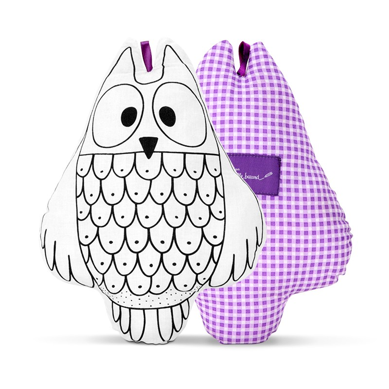 """Owl to colour"" by Marielle Bazard"