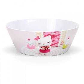"Melamin salad bowl ""Ginger"""