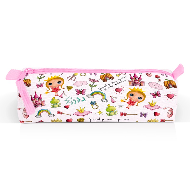 Princess Children's Pencil Case by Isabelle Kessedjian