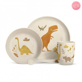 "Vegetal dinnerware ""Dinosaurs"" by Label'tour créations"