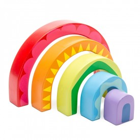 Rainbow Tunnel Toy by Le toy van