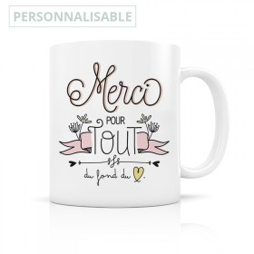 Customizable Merci Mug
