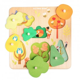 Woodland Tree Puzzle by Le toy van