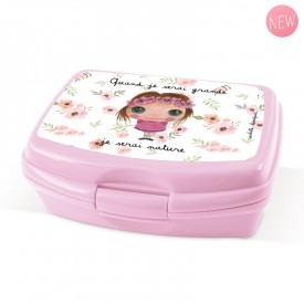 Lunch Box Natrue freindly girl by Isabelle Kessedjian