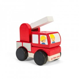 Fire Engine Stacker by Le toy van