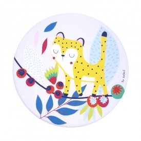 Mirror Jungle leopard by Zabeil