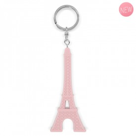 Pink key ring by Marie-Pierre Denizot