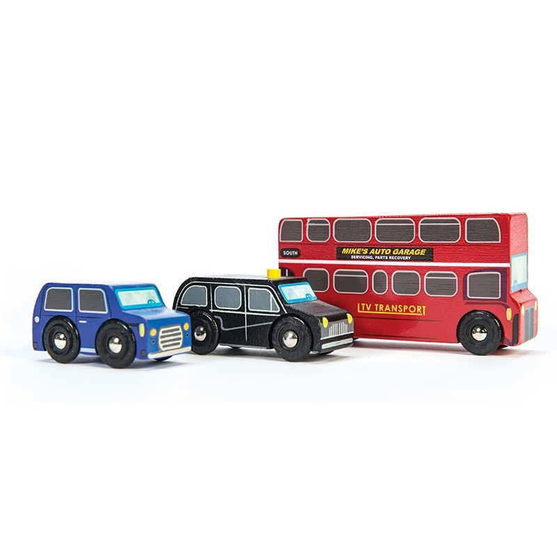 Little London Vehicle Set by Le toy van