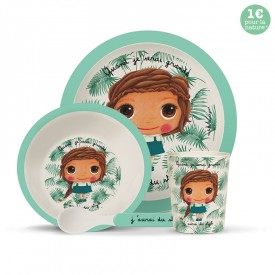 Bamboo kids meal set: Style by Isabelle Kessedjian