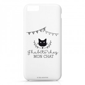 Iphone case 6 : J'habite chez mon chat