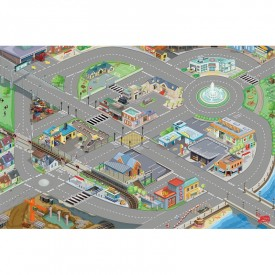 Car Playmat 100 x 150cm by Le toy van