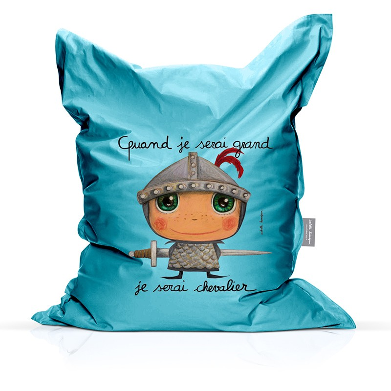 Bean bag Knight by Isabelle Kessedjian