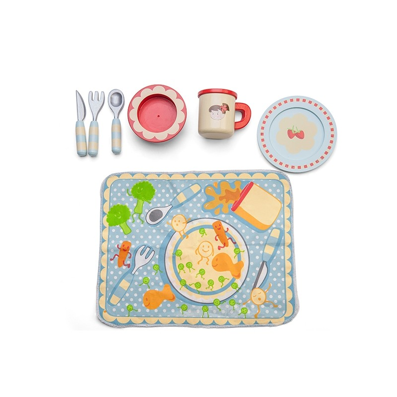 Dinner Set Place Setting by Le toy van