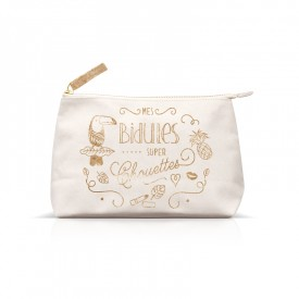 Pouch Mes bidules super chouettes by Créa bisontine
