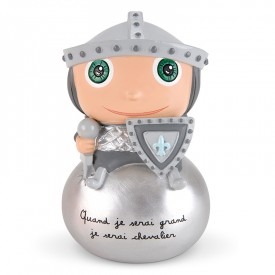 Knight Money box by Isabelle Kessedjian