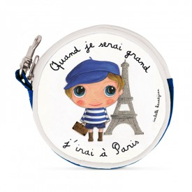 Coin purse Paris by Isabelle Kessedjian