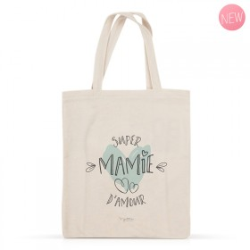Super mamie d'amour cotton bag