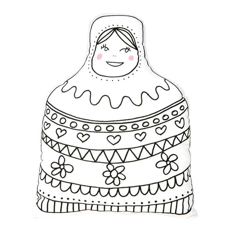 Large Matryoshka by Marielle Bazard