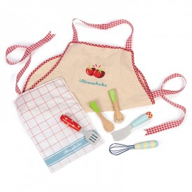 Apron & Utensil Set by Le toy van