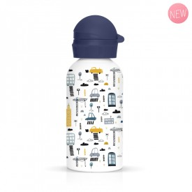Children flask for children City by Label'tour créations