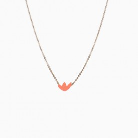 Maple mandarine Necklace by Titlee