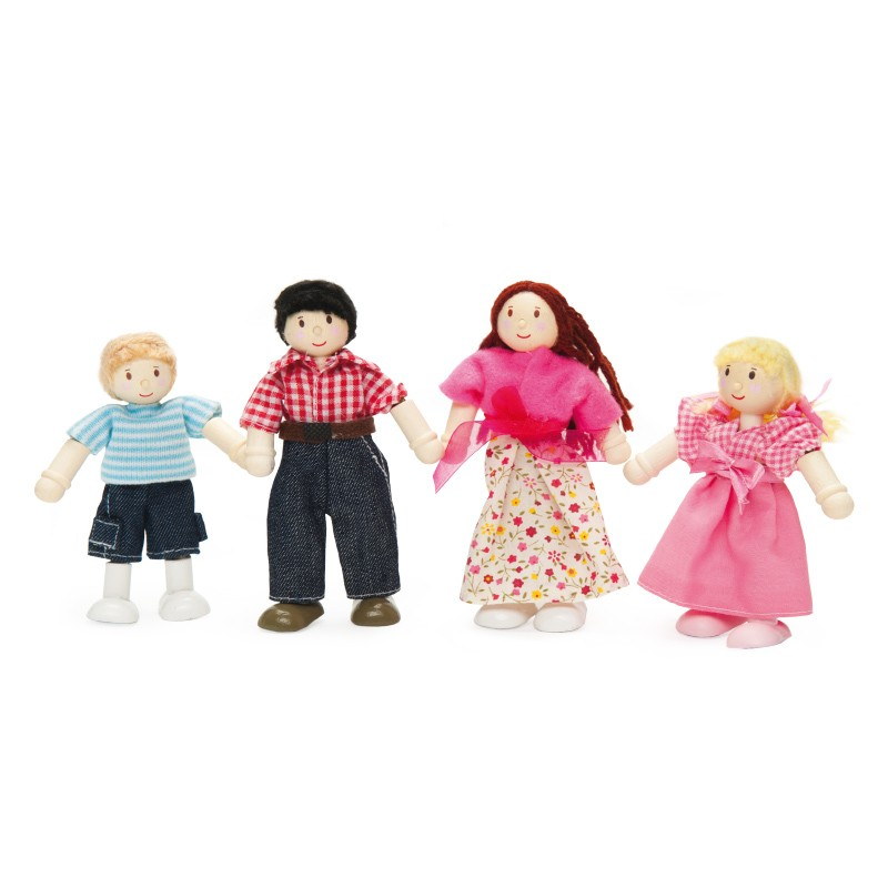 My Family of 4 by Le toy van