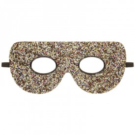 Glitter superhero mask