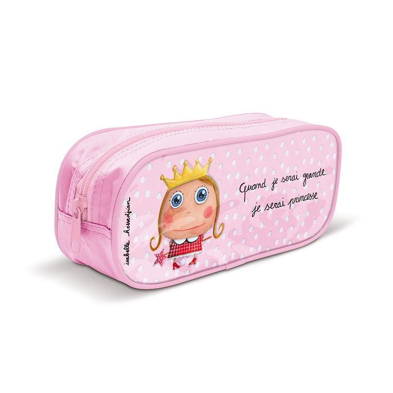 Pencil case Princesse by Isabelle Kessedjian