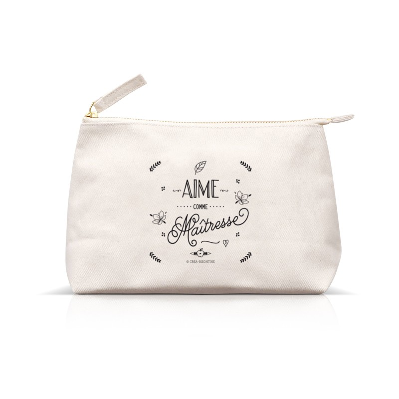 Pouch Aime comme Maîtresse by Créa bisontine