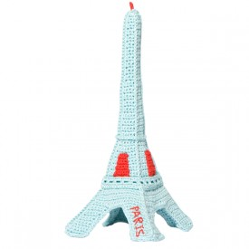 Crocheted Eiffel Tower by Marie-Pierre Denizot