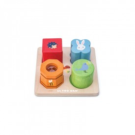 Petilou 4 Piece  Sensory Tray Set  by Le toy van