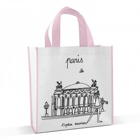 Shopping bag to colour Opera Garnier by Marielle Bazard