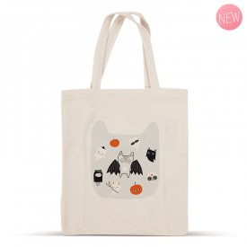Cotton tote bag: Halloween