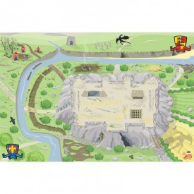 Castle Playmat 100 x 150cm by Le toy van