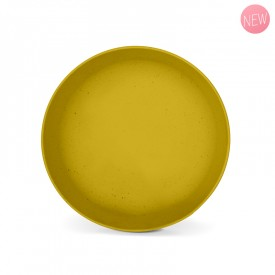 Mimosa yellow vegetal bowl by Label'tour créations