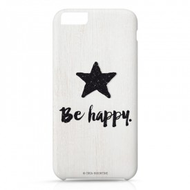 Iphone case 6 : Be Happy by Créa bisontine