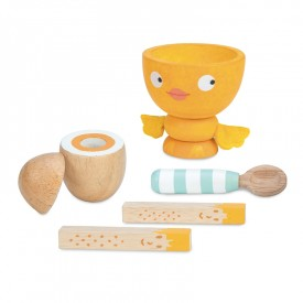 "Egg Cup Set ""Chicky-Chick"" by Le toy van"