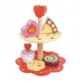 2 Tier Cake Stand Set by Le toy van