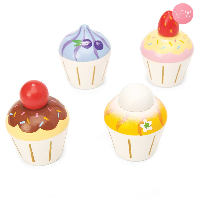 Wooden cupcakes by Le toy van