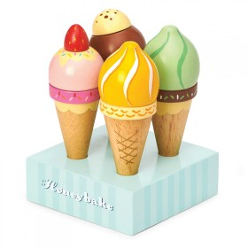 Wooden ice creams