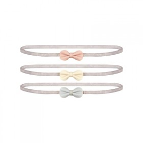 3 little bow headbands