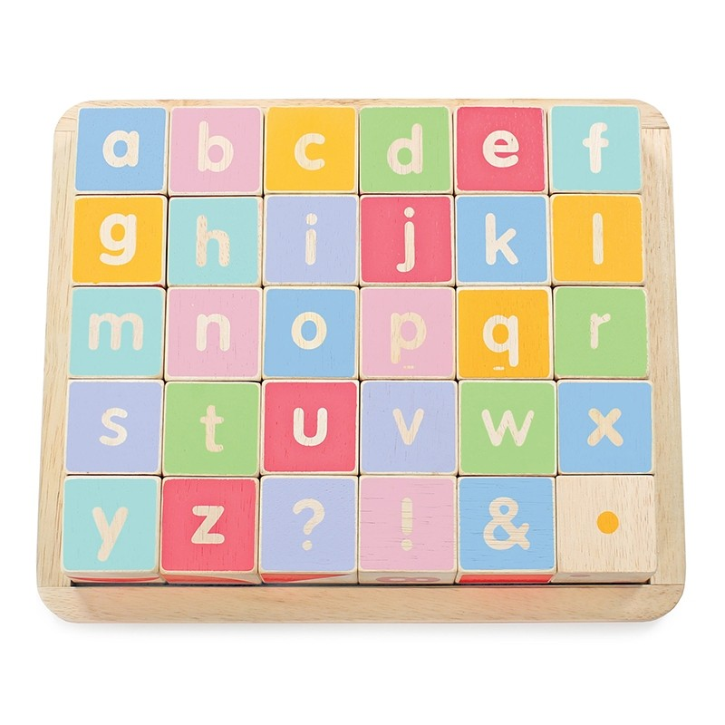 ABC Wooden Blocks by Le toy van