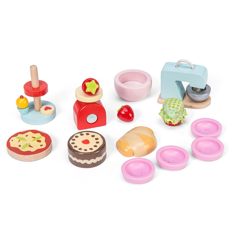 Make & Bake Kitchen Accesory Pack by Le toy van