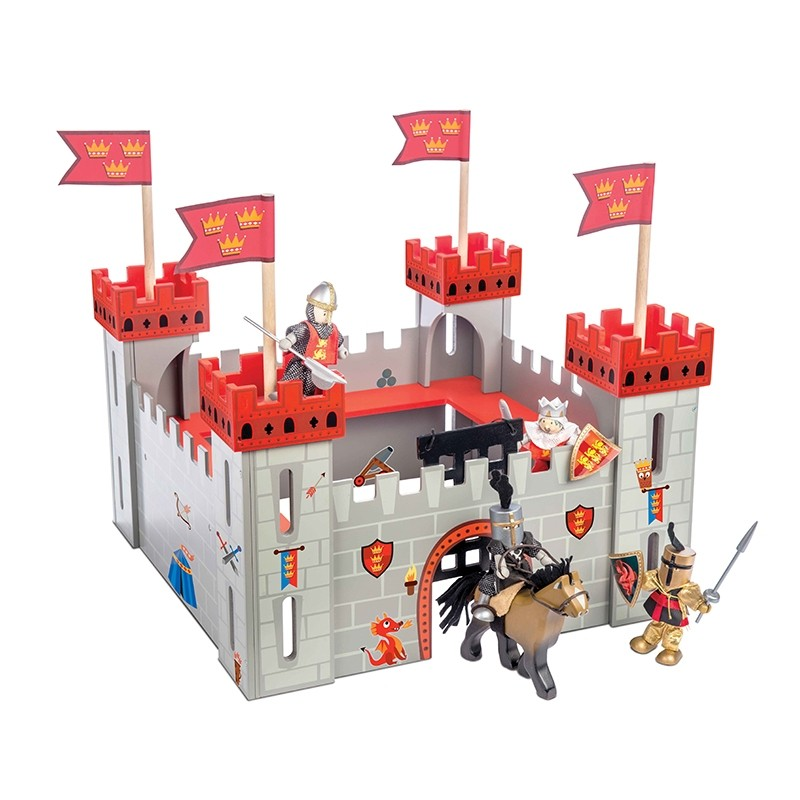 My First Castle Red by Le toy van