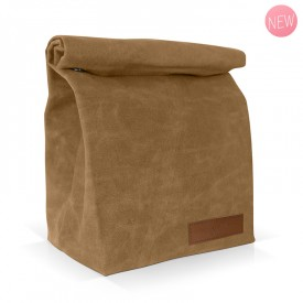 Camel insulated lunch bag by Label'tour créations