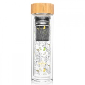 "Infuser bottle ""Agrumes"""